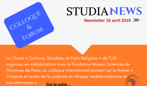 Conférence international sur «Violence et sortie de la violence en Afrique méditerranéenne et Subsaharienne »